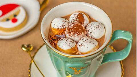 自制棉花糖+热巧克力~圣诞必备丨绵羊料理