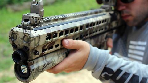 【北美报哥】超级变态的霰弹枪UTS15