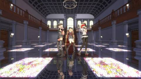 【MMD艦これ】ドイツ艦娘とプロイセンで「Masked BitcH」【3人用カメラ配布】