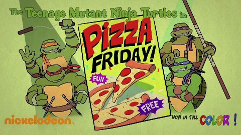 【生肉】忍者神龟SDCC2016特别篇 03 Pizza Friday