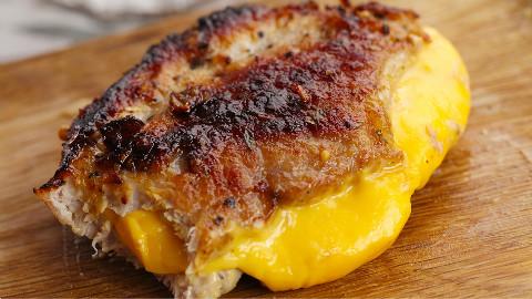 爆浆蜂蜜蒜香猪排 太阳猫早餐