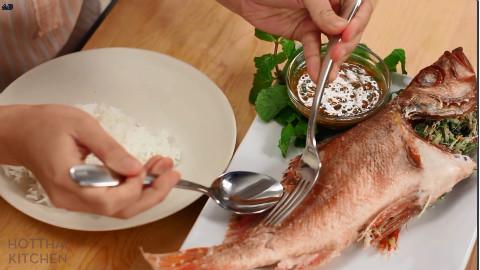 泰式香草烤鲷鱼