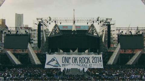【ONE OK ROCK 】横滨体育馆LIVE DVD完整版(2014)