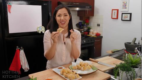 【泰妹的厨房】泰式油炸鸡肉馄饨