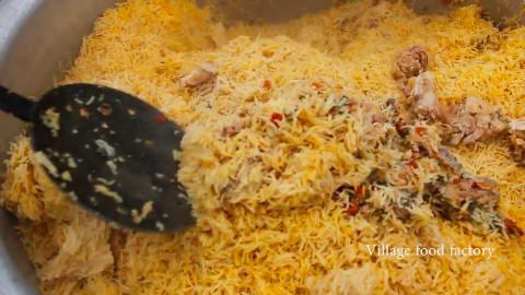 印度料理-咖喱鸡焖饭