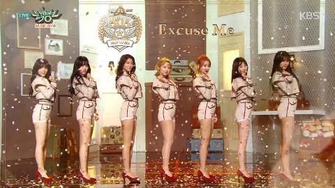 ╰⋛⋋王牌天使⋌⋚╯音乐银行《Bing Bing + Excuse Me》回归舞台