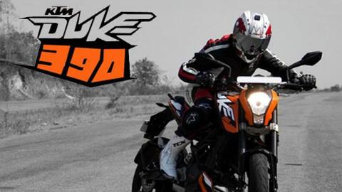 跑山小王子 KTM DUKE 200-DUKE 390 呆子测评