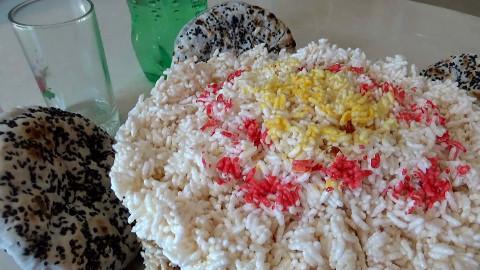 【木易苏野趣】广西农村年货的制作:米花、芝麻饼