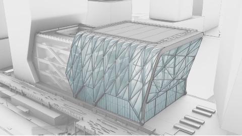 可以扩大一倍的建筑,还带轮子,将成纽约新地标