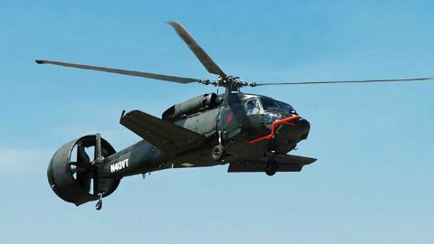 """多了个风扇,比普通直升机快25%,这下可以替代""""鱼鹰""""了"""