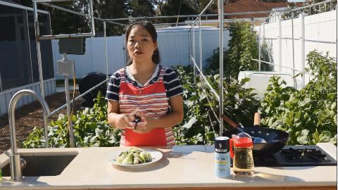 美味蒜泥青菜
