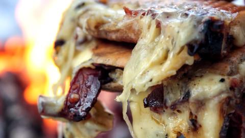 终极奶酪三明治