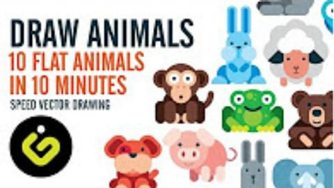 【设计搬运】用AI快速制作10个矢量动物
