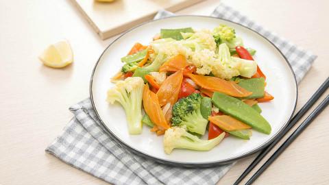 【味库美食】春天的味道,就是一盘杂蔬小炒