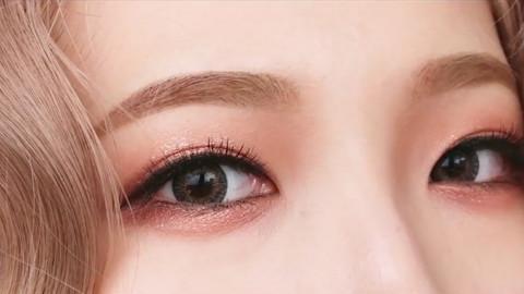 美芽| 活力橙色眼妆 尽显少女范儿