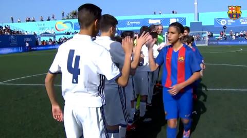皇马少年队_vs_巴萨少年队,中国足球的路还很长