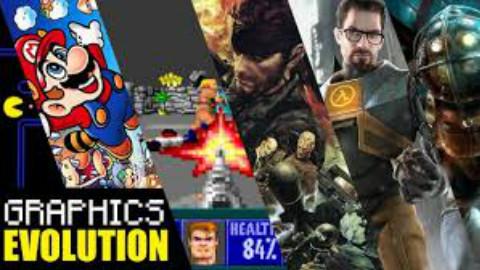 电子游戏画质进化史1962-2017年