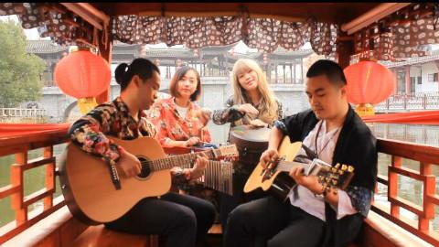 原来吉他可以弹唱出这么美的中国风!心都醉了!
