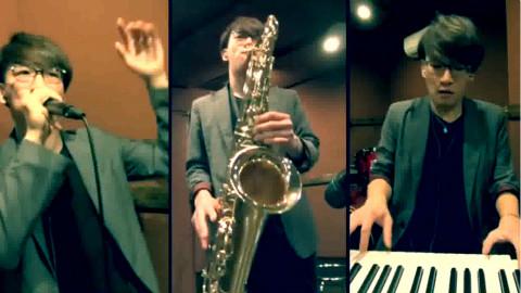 THETA - 牛人分饰三角用BeatBox、钢琴加萨克斯玩转音乐超好听!
