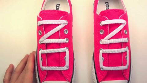 花式系鞋带 简单易学  一边听歌一边看