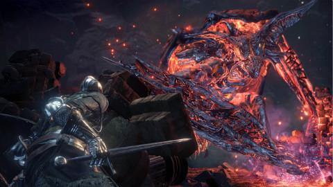 暗黑之魂3DLC环印城BOSS战