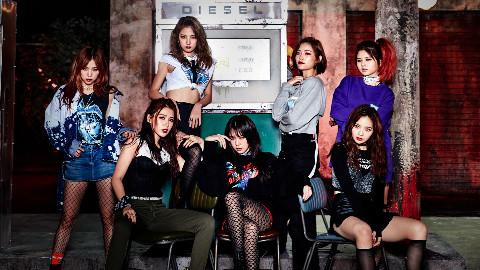 SNH48国际化小分队7SENSES出道MV《Girl Crush》
