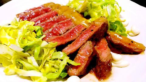 【鱿鱼B级料理】特制日式白味增西冷牛排【内含角色扮演】