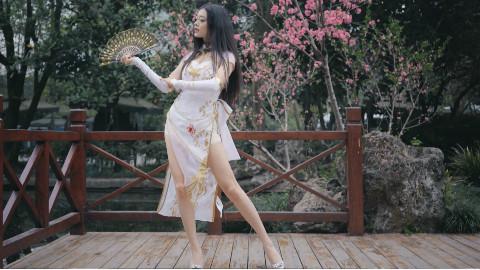 【未南】❤桃花旗袍❤怎可一人赴天涯海角♡