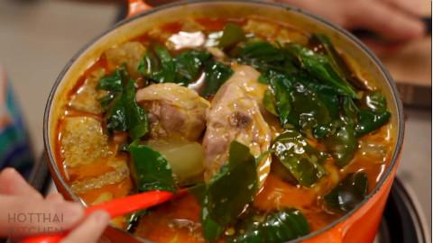 泰式冬瓜炖鸡肉