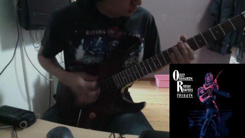 【吉他】翻弹 Ozzy Osbourne- Paranoid