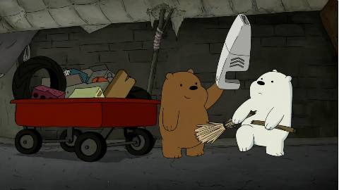 咱们裸熊 We Bare Bears S03E05 【EF字幕组】