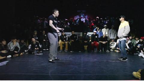 popping battle |  Hoan VS popping DS