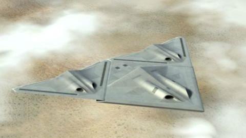 最酷无人战机,可以分离组合,坏了在空中自己修复