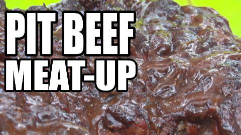 【soso字幕】美国土豪BBQ 烧烤牛肉鸡腿猪肉串大聚会 #BBQ Pit Boys#