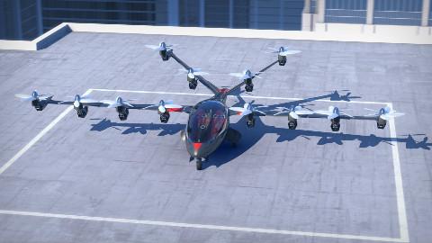 16个发动机的家用飞机,垂直起降时速322公里,只要128万