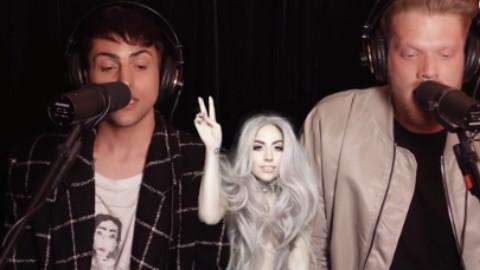 Pentatonix成员串烧Lady Gaga热单