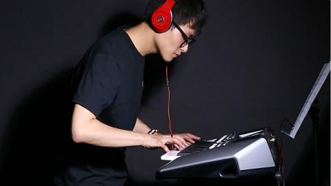 超原版,西游记片头曲,电子琴演奏