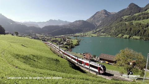 瑞士铁路 金色山口线ZB段