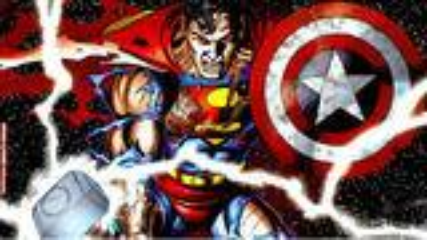 超人举起雷神锤,扛起美队的盾牌,唱起了共产国际歌