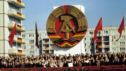 民主德国40周年大会 合唱国际歌
