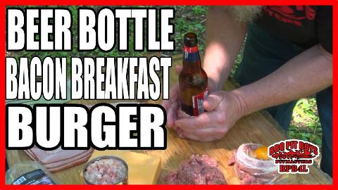 【soso字幕】美国土豪BBQ 啤酒瓶培根早餐汉堡 #BBQ Pit Boys# @Sofronio