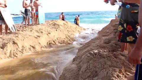 没有这个本事就不要去挑战海水的狭管效应