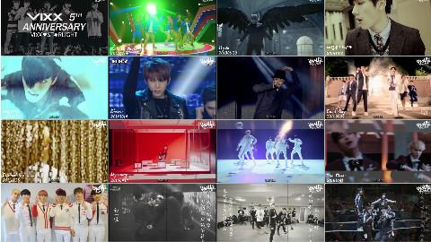 【LightUpCN饭制】170524 VIXX Happy 5th Anniversary