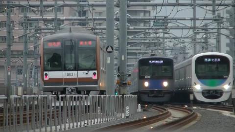 【Youtube】西武鉄道 池袋線 石神井公園駅观察(練馬方向) 2017.4