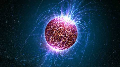 NASA中文,带你了解宇宙中能被观测到的密度最大的物体 - 中子星
