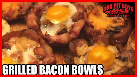 【soso字幕·大家高考辛苦了】美国土豪BBQ 香肠奶酪培根汉堡 #BBQ Pit Boys#