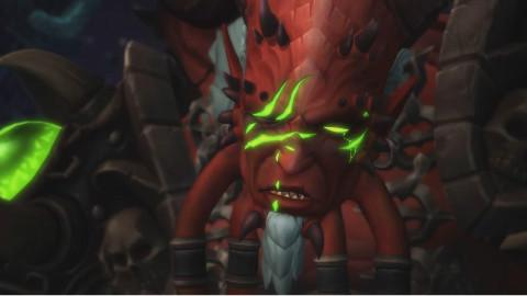 魔兽世界7.25 基尔加丹结束过场动画【中文字幕】