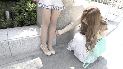 中日妹子不同的丝袜观【东游食记05】