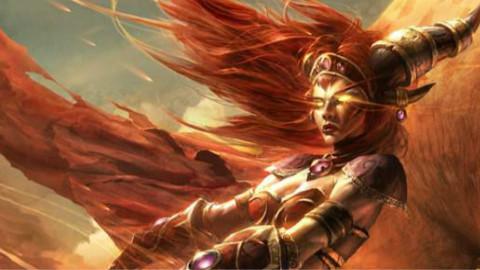 【夏一可】炉石史册:红龙女王阿莱克丝塔萨