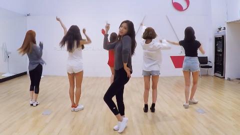 【Apink】阿粉 FIVE 练习室舞蹈